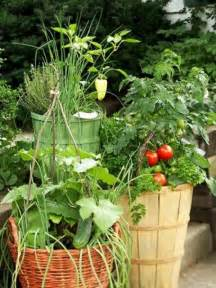 container gardening getting your pots ready