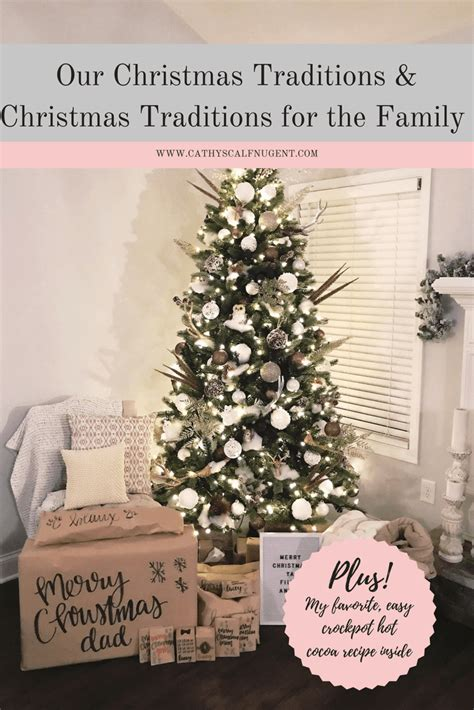 our christmas traditions plus my favorite crockpot hot