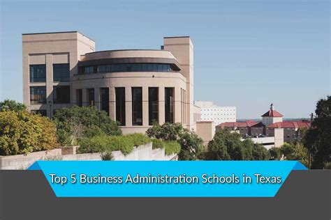 Top 5 Mba Schools by Top 5 Business Administration Schools In