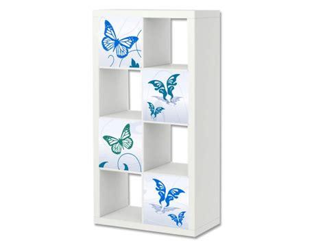 Ikea Regal Rund by Blue Butterfly M 246 Bel Aufkleber Expedit Kallax Stikkipix