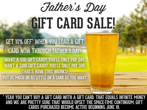 Beer Store Gift Cards - whichcraft beer store father s day gift card sale going on now plus flag day