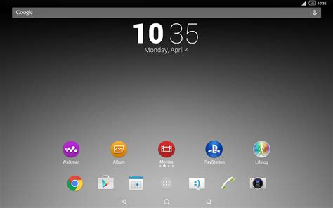 Play Store Themes Monochrome Theme For Xperia Android Apps On Play