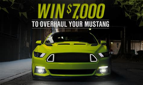 American Muscle 7000 Giveaway - win 7 000 in mustang parts americanmuscle com blog