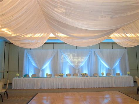 Charleston Wedding Reception  Traditional Pipe and Drape