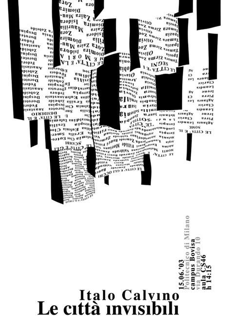 calvino le città invisibili testo le citt 224 invisibili e