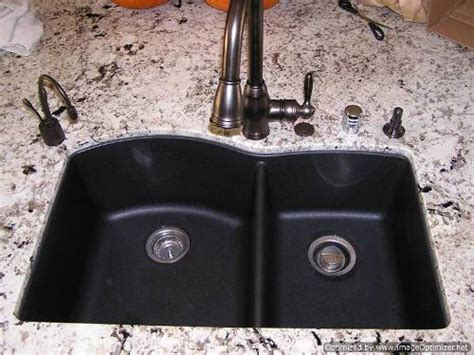Blanco Black Granite Sink by Blanco Black Granite Sink The Interior Design