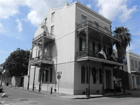 black white picture of lafitte guest house new