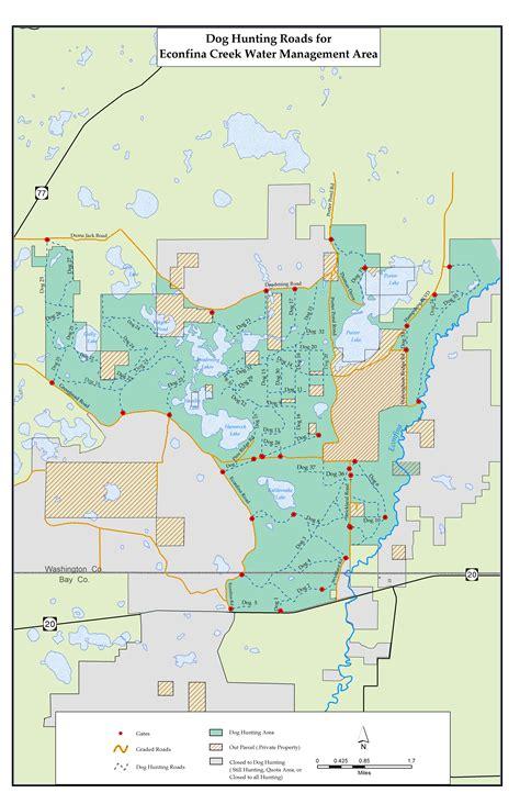 northwest florida water management district map econfina creek northwest florida water management district