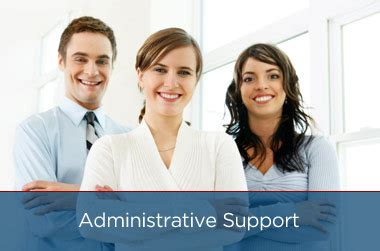 administrative support at officeteam