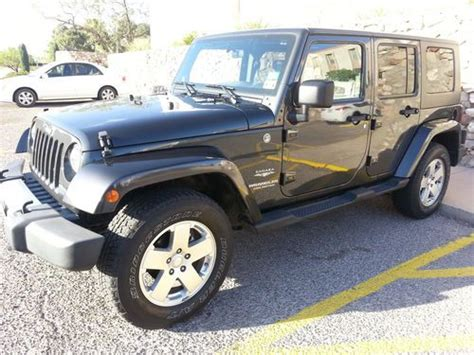 Jeep Wrangler 4 Door 2010 Sell Used 2010 Jeep Wrangler Unlimited Sport