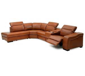 Recliner Sofa With Chaise Palliser Infineon Leather Reclining Sectional