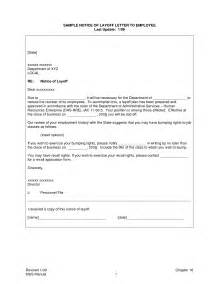 layoff letter template 10 best images of employee layoff notice template