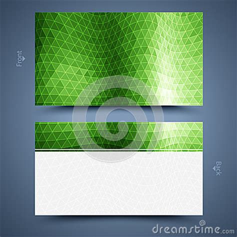 free green card templates green business card template abstract background royalty