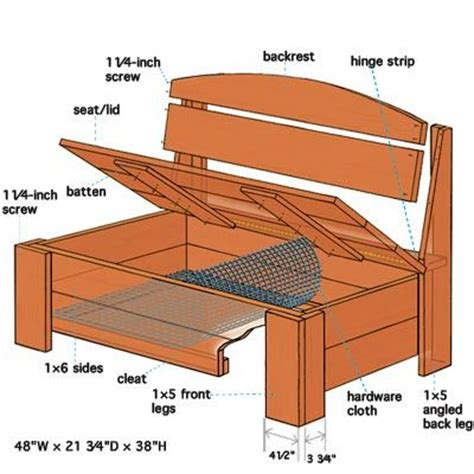 outdoor bench seat with storage plans best 20 outdoor storage benches ideas on pinterest