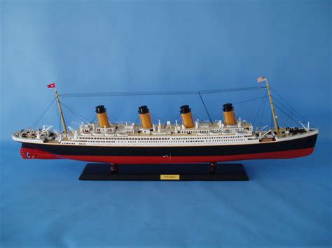 titanic boat information rms titanic model w lights limited edition 40 quot assembled
