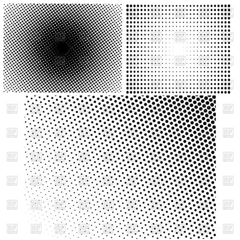 dot halftone pattern vector halftone patterns with dots royalty free vector clip art