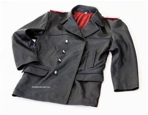 german black leather u boat jacket ww2 german leather u boat kriegsmarine leather deck jacket