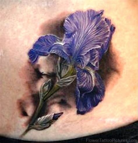 iris tattoo 35 fabulous iris flower tattoos