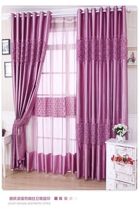 cortinas rosas compra cortinas de seda bordado online al por mayor de