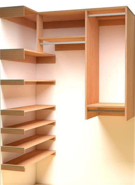 25 best ideas about wood closet organizers on