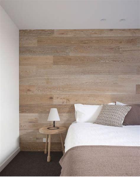 d馗oration mur chambre d 233 corer un mur avec un habillage en bois