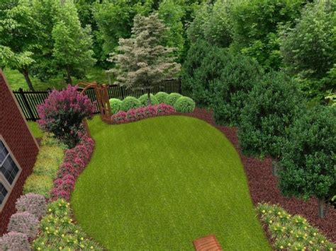 outdoor gardening beautiful garden backyard landscape