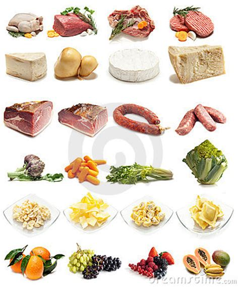 alimenti contenente potassio collection of food variety royalty free stock photo