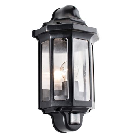 Outdoor Lighting With Pir 1818pir Traditional Pir Outdoor Wall Light Automatic