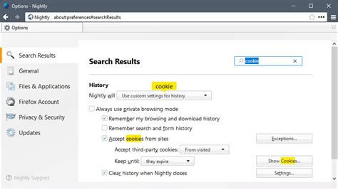 G Search Look At Firefox S Preferences Search Ghacks Tech News