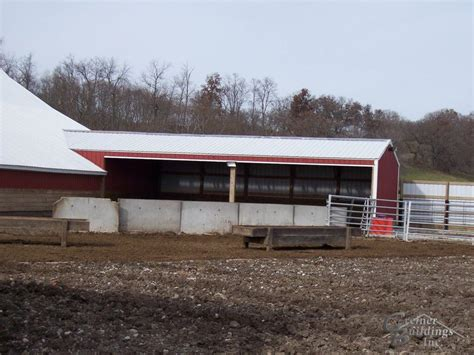 cattle sheds iowa  illinois greiner buildings