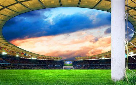 stadium my free photoshop world football field wallpapers wallpaper cave