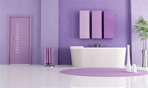 Cool Bathroom Paint Colors by Bathroom Inspiration Paint Colors Purple Color