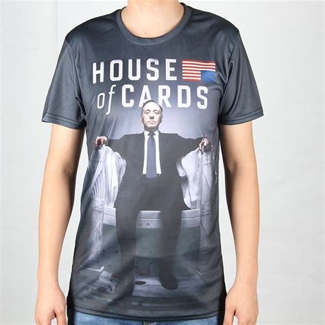 underground pattern t shirt personalized pattern house of cards t shirts round neck