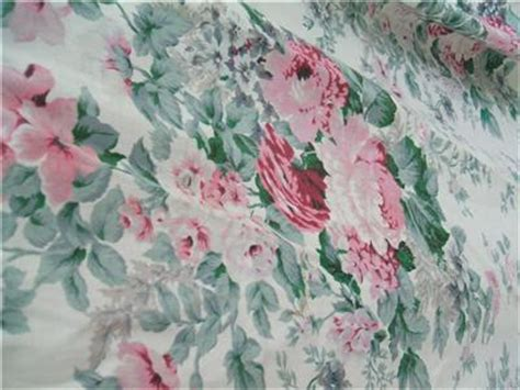 cabbage rose fabric curtains vintage faded cabbage roses long curtains fabric shabby