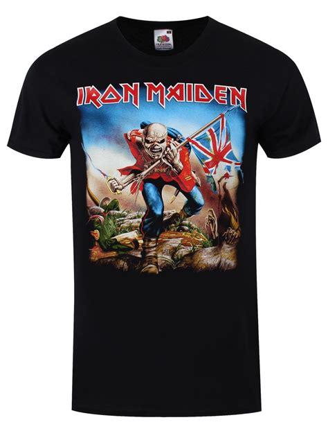 T Shirt The Iron iron maiden the trooper s t shirt offical band merch