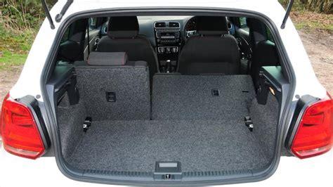 volkswagen polo boot size volkswagen polo gti hatchback 2010 2017 practicality