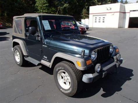 2005 Jeep Wrangler Specs 2005 Jeep Wrangler Sport 4x4 Data Info And Specs