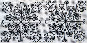 what works for at work four patterns working need to books blackwork backstitch