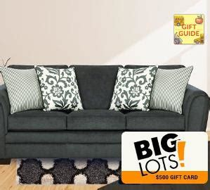 Big Lots Gift Card - contest win a 500 big lots gift card