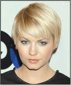 20 short hair for round faces short hairstyles 2016 2017 most