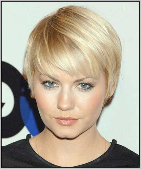 20 short for round faces short hairstyles 2016