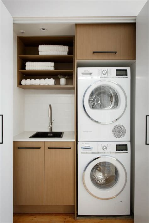 smart design ideas  steal  small laundry rooms