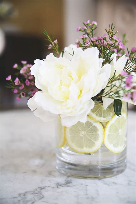 how to make flower arrangements how to make a citrus flower arrangement hellonatural co