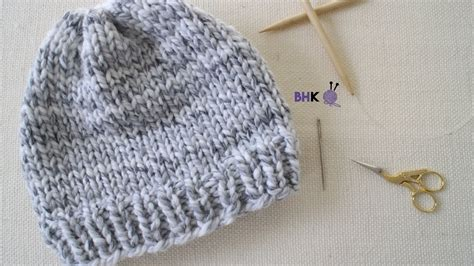 knitting for left handed beginners how to knit a hat for beginners left handed