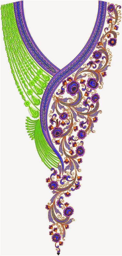 embroidery designs embroidery for kurtis neck embroidery
