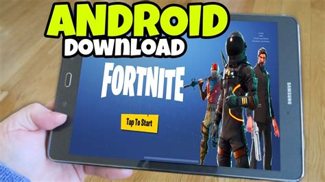 fortnite mobile  android phones