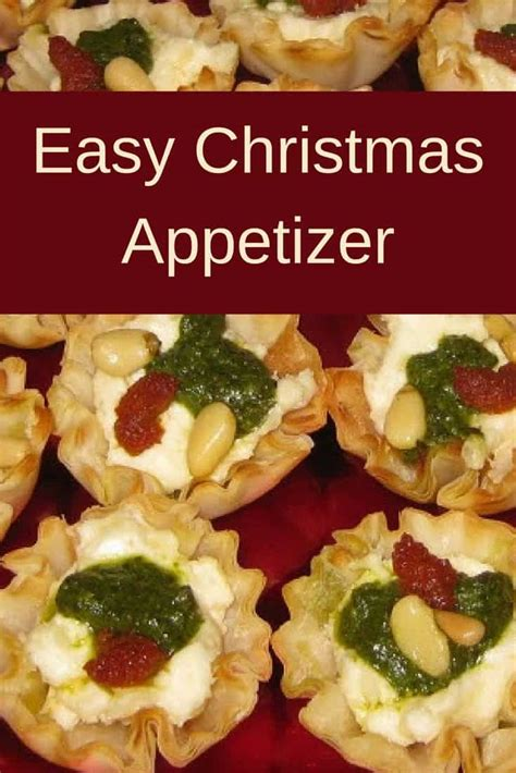 easy christmas appetizer savory tartlets recipes me
