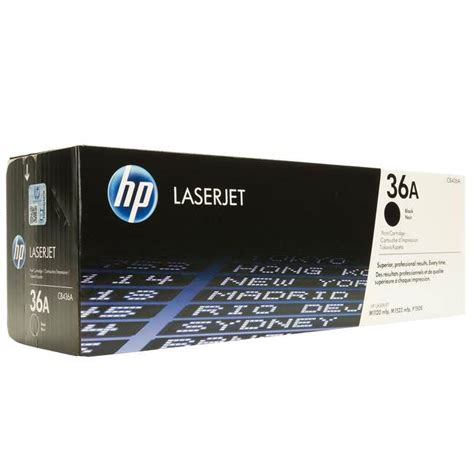Toner Hp Laserjet 36a Original Black hp laserjet m1522n toner cartridges