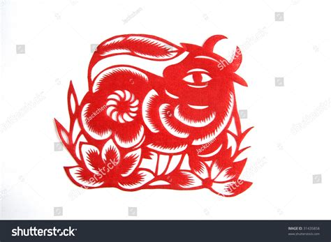 new year horoscope for ox zodiac lunar new year ox patient stock photo
