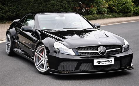 black benz wallpapers of beautiful cars mercedes benz sl r230 black